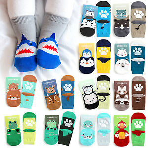 Vaenait Baby Kids Toddler Clothes Non Slip Skid Socks Boys Zoo
