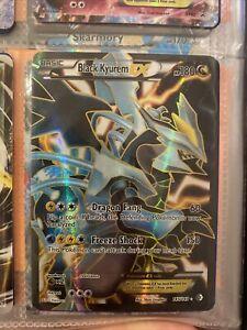 Pokemon Black Kyurem EX Full Art Boundaries Crossed 145/149 NM