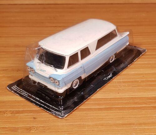 START MINI VAN BUS  DIE CAST MODEL AUTO LEGENDS OF USSR #65