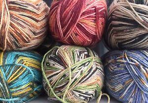 Opal-Sock-Yarn-4-ply-100g-One-ball-knits-a-pair-of-socks-Many-shades-available