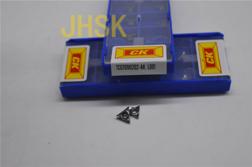 TCGT090202-AK CK TCGT1.81.50.5-AK Used for Aluminum (superior quality) 10pcs