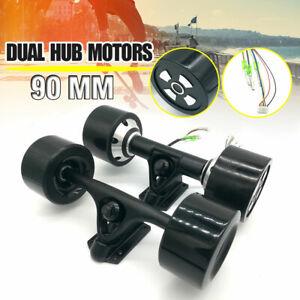 24V-90mm-Dual-6364-Hub-Motors-Drive-Kit-For-Electric-Skateboard-Longboard-Parts
