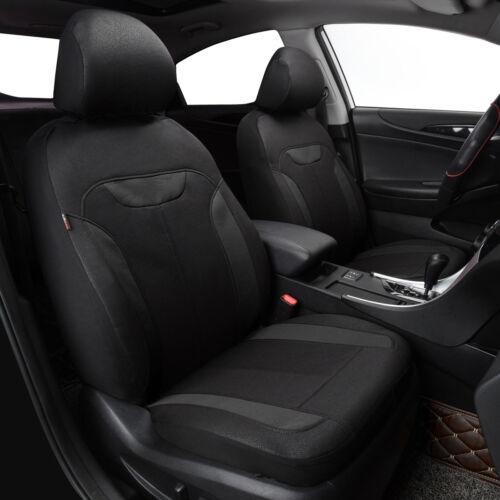 Universal Car Seat Covers Black Auto Seat Protector for SUV Nissan KIA Toyota VW