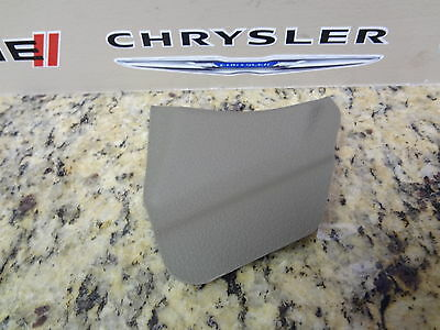 07-09 Durango Aspen New Seat Belt Anchor Trim Cover Lt Graystone Mopar Oem