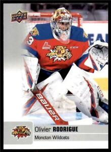 2019-20-UD-CHL-Base-Set-3-Olivier-Rodrigue-Moncton-Wildcats