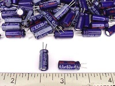 4pack 1000uf 63v 105c FC Series Radial Panasonic Audio Grade Capacitors NEW