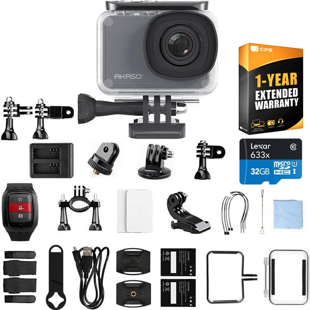 Akaso V50 Pro Native 4K/30 fps 20 MP WiFi Waterproof Action Camera action akaso camera fps native pro v50 waterproof wifi