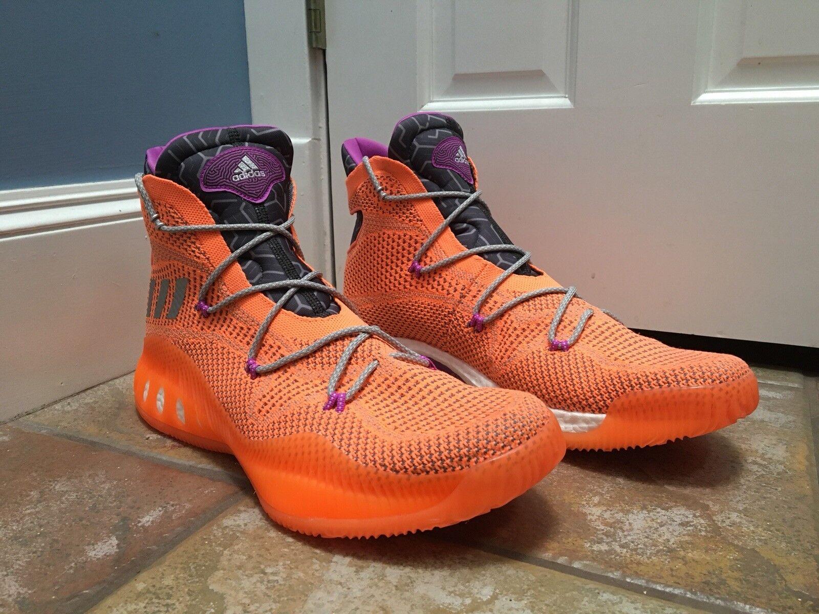 Uomo numero 17 scarpe adidas pazzo esplosivo primeknit scarpe 17 da basket bb8370 arancione 45be1e