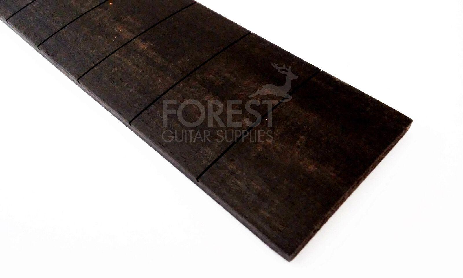 Ebony Guitar Fretboard, Fingerboard 25   Prs Slotted, Compound Radius 10-16