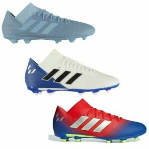 5e2caf6db73 adidas Nemeziz Messi 18.3 FG Firm Ground Football Boots Mens Soccer ...