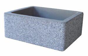 Vasca Da Lavare In Cemento : Bonfante lavello acquaio da muro cemento marmo maiella grigio