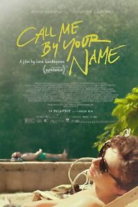 Call Me By Your Name Movie Luca Guadagnino Canvas Poster 12x18 24x36 inch