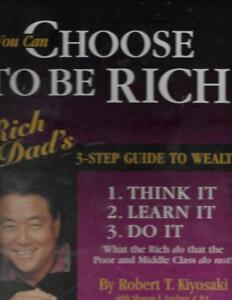You-Can-Choose-to-Be-RICH-Kiyosaki-3-Step-Guide-to-Wealth-on-12-Cassettes