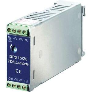 TDK-Lambda-dpx15-48ws3p3-Guia-DIN-Suministro-Electrico