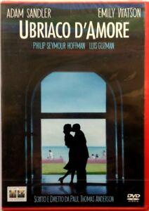 Dvd-Ubriaco-d-039-Amore-di-Paul-Thomas-Anderson-2002-Nuovo