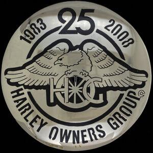 HOG Harley Davidson Owners Group Biker Motorcycle Johnson Held NOS Belt Buckle