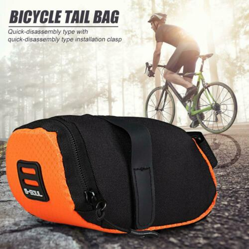 MTB Bike Bicycle Saddle Bag Under Seat Waterproof Storage Tail Pouch Cycling Bag