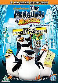 1 of 1 - Penguins Of Madagascar - Happy King Julien Day [DVD], Good DVD, John Di Maggio,