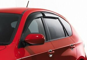 JDM Window Visors for Subaru Impreza Outback 08 09 10 11 Sport Only 2008-2011