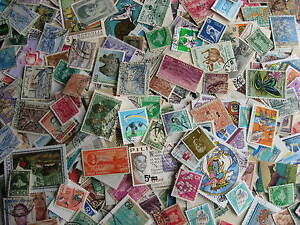 ASIA colossal mixture (duplicates,mixed cond) of 1,000 old new large & small