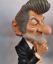 EDDY-MITCHELL-dit-SCHMOLL-caricature-statue-statuette-collector-chanteur-rock miniature 1