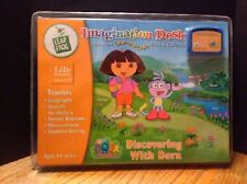 """Imagination Desk: """"Discovering with Dora"""" Interactive Color-and-Learn Book and"""