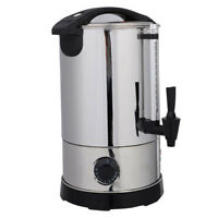 6 Quart Stainless Steel Electric Water Boiler Warmer Water Kettle Dispenser Us