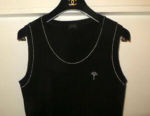 maniche nero Joop Lusso e puro bianco shmere Maje 100 in Maglione senza H6OB7z