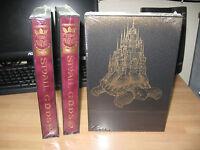 Terry Pratchett Small Gods Discworld illustrated slipcased sealed Folio Society