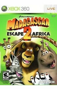 Madagascar-Escape-2-Africa-Xbox-360-Kids-Game-Rare-Collectible