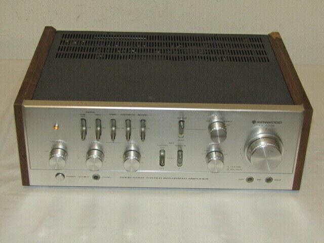 Kenwood KA-6006 Vintage Integrated Amplifier - as-is, READ, For Parts or Repair