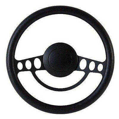 Black Billet Steering Wheel Adapter Five Hole for Ididit GM Columns