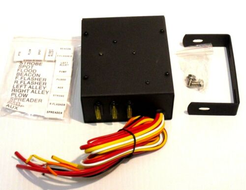 Buyers part# 6391104 Salt Spreader 4 Function Universal Switch Box
