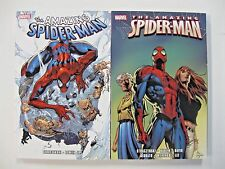 *Amazing Spider-Man by JMS Ultimate Collection, Books 1 and 4 LOT (Cover $70)
