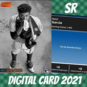 Topps Bunt 21 Deivi Garcia Stadium Club Orange Base S/2 2021 Digital Card