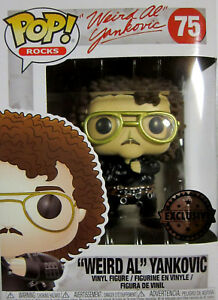 Kenntnisreich Weird Al Yankovic Funko Pop Limited Vinyl Figur Rocks