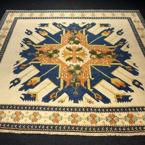 Tuerkischer-Orient-Teppich-246-x-217-cm-Milas-Melas-Kars-Adler-Schirwan-Carpet