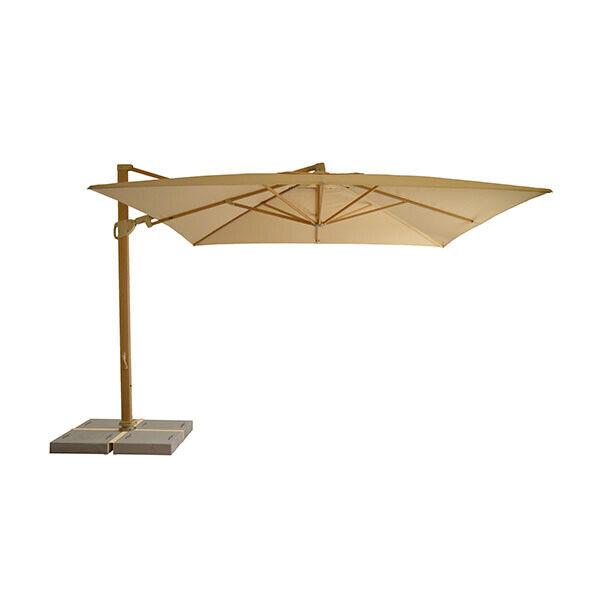 Ombrellone Braccio Laterale 2x2.Ombrellone A Braccio Tempo Style Trastevere 3 3 X 3 3 Mt Luci Led Ebay