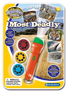 Brainstorm Toys Most Deadly Torch and Projector