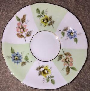 Royal-Grafton-Fine-Bone-China-England-Floral-Saucer