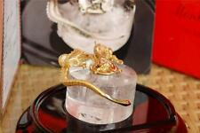 MONTEGRAPPA 1995 DRAGON SOLID 18K GOLD LIMITED EDITION INKWELL, RARE 0X/50