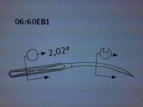 SCHMETZ UYX154 GAS NM90 SIZE14//036 L BALL POINT INDUSTRIAL SEWING MACHINE NEEDLE