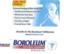 Boroleum Analgesic Ointment 0.60 oz nasal soreness dry nose