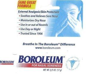 3 Pack - Boroleum Analgesic Ointment 0.60 oz Each Sunmark Lip Balm Tube SPF 15 1 Count
