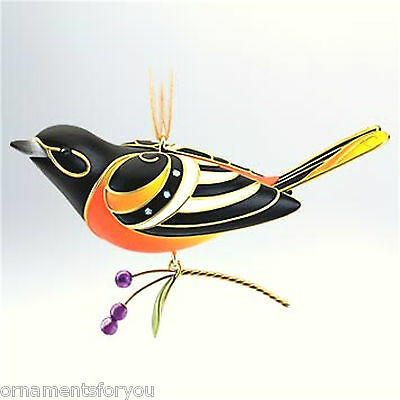 Hallmark 2011 Baltimore Oriole  Beauty of Birds Series Ornament