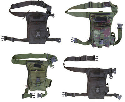 Mens Army Combat Military Travel Bag Waist Shoulder Belt Bum Day Pack Holster