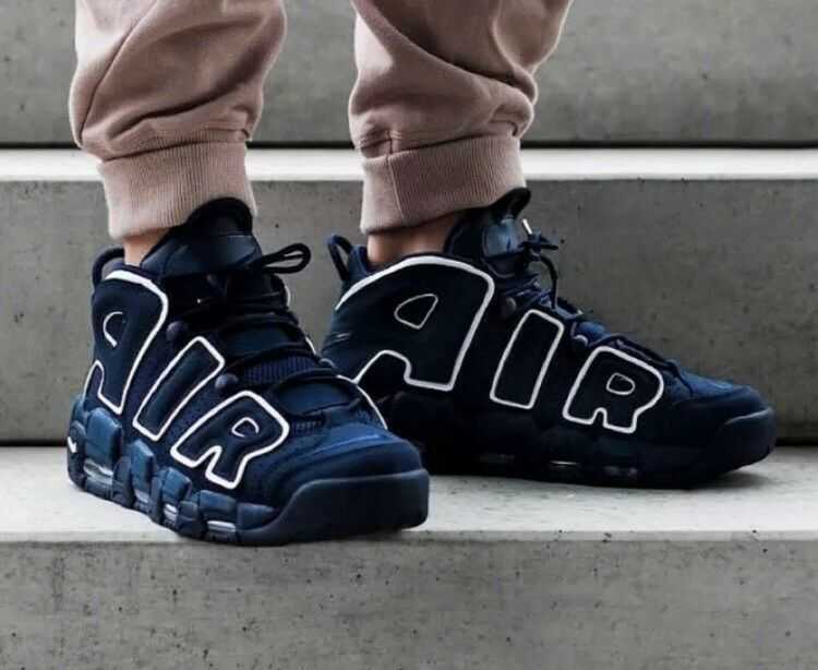 Nike Air More Uptempo 96 Obsidian UK Größe 12 SOLD OUT