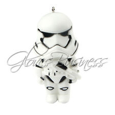 1pc Star Wars stormtrooper PVC Pendant for Bubblegum Chunky Necklace Key Ring