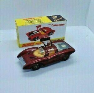Dinky Toys Ferrari P5 NO.220 en Caja De Almacenamiento/Pantalla de reemplazo