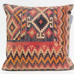 24-034-X24-034-Home-decor-Kurdish-pillow-cover-Handmade-kilim-vintage-kilim-area-rugs